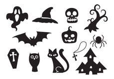 Icona Halloween, vettore Fotografia Stock