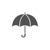 Icona isolata dell'ombrello Immagine Stock