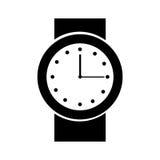 icona isolata orologio della mano Immagine Stock Libera da Diritti