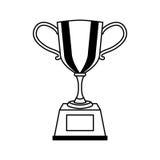 icona isolata premio del trofeo Fotografia Stock Libera da Diritti