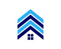 Icona Logo Design Element di Real Estate Fotografia Stock