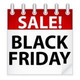 Icona nera di venerdì illustrazione di stock