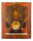 Icona ortodossa antica Fotografia Stock