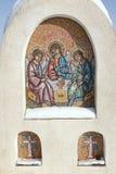 Icona ortodossa del mosaico Immagini Stock Libere da Diritti