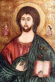 Icona ortodossa di Gesù Cristo Fotografia Stock Libera da Diritti