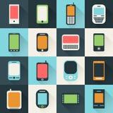 Icona phone6 Fotografie Stock