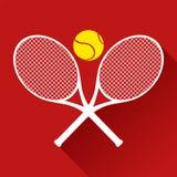 Icona piacevole di tennis Immagine Stock