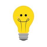 Icona positiva di sensibilità Progettazione di pensiero Grafico di vettore Fotografie Stock