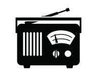 Icona radiofonica Fotografie Stock