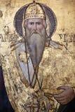 Icona religiosa - monastero della st Barnabas Immagine Stock