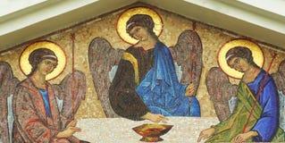 Icona santa Fotografie Stock Libere da Diritti