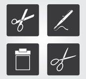 Icona semplice di web in: mobili d'ufficio Fotografie Stock Libere da Diritti