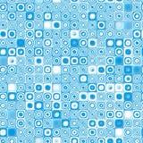 Icona senza giunte di struttura del reticolo delle mattonelle Immagini Stock Libere da Diritti