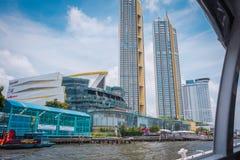 ICONA Siam, il centro commerciale a Bangkok, Tailandia fotografia stock libera da diritti