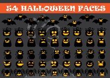 Icona stabilita di Halloween Immagini Stock