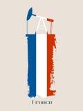 Icona tagliata della pompa di olio Immagine Stock Libera da Diritti
