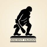 Icona umana antica royalty illustrazione gratis