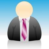 Icona-Uomo d'affari Immagini Stock