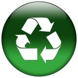 Icona verde di Web Fotografia Stock Libera da Diritti