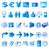 Icone 02 di Web Immagine Stock Libera da Diritti