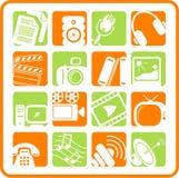 Icone Fotografia Stock