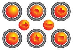 icone 3D Fotografie Stock