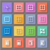 icone Fotografie Stock Libere da Diritti