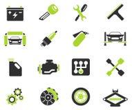 Icone automatiche di servizio Immagini Stock Libere da Diritti