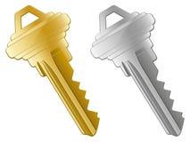 Icone chiave illustrazione vettoriale