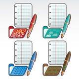 Icone dagli elementi Immagine Stock