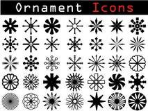 Icone decorative Immagini Stock Libere da Diritti