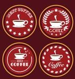 Icone del caffè Fotografia Stock Libera da Diritti