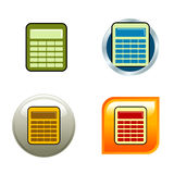 Icone del calcolatore Fotografie Stock Libere da Diritti