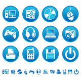Icone del calcolatore Immagine Stock Libera da Diritti