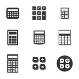 Icone del calcolatore illustrazione vettoriale