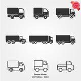 Icone del camion Fotografie Stock Libere da Diritti