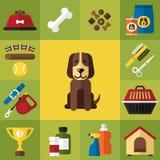Icone del cane Fotografia Stock Libera da Diritti