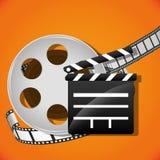 Icone del cinema e del film Immagine Stock Libera da Diritti