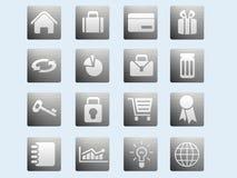 Icone del Internet & di Web site Immagini Stock Libere da Diritti