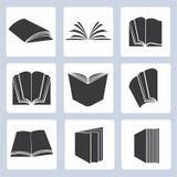 Icone del libro Immagini Stock Libere da Diritti