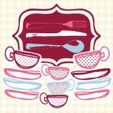 Icone del menu Immagine Stock Libera da Diritti
