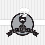 Icone del menu Fotografie Stock
