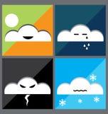Icone del tempo Fotografie Stock
