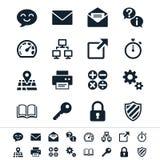Icone dell'applicazione Fotografie Stock Libere da Diritti