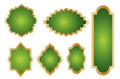Icone dell'elemento di marchio - vettore Immagini Stock