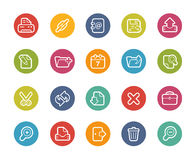 Icone dell'interfaccia di web -- Serie di Printemps Immagine Stock Libera da Diritti