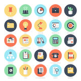 Icone dell'ufficio Immagine Stock