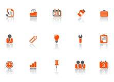 Icone dell'ufficio e di Web Immagini Stock Libere da Diritti