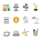 Icone dell'ufficio, parte 1 Immagini Stock