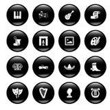 Icone della coltura illustrazione di stock